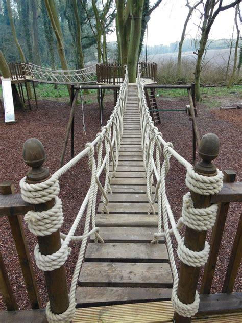 Diy-Wood-Rope-Bridge