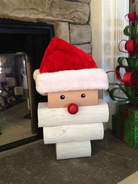 Diy-Wood-Santa-And-Snowman