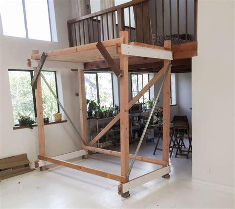 Diy-Wood-Scaffolding