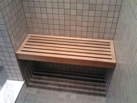 Diy-Wood-Shower-Bench