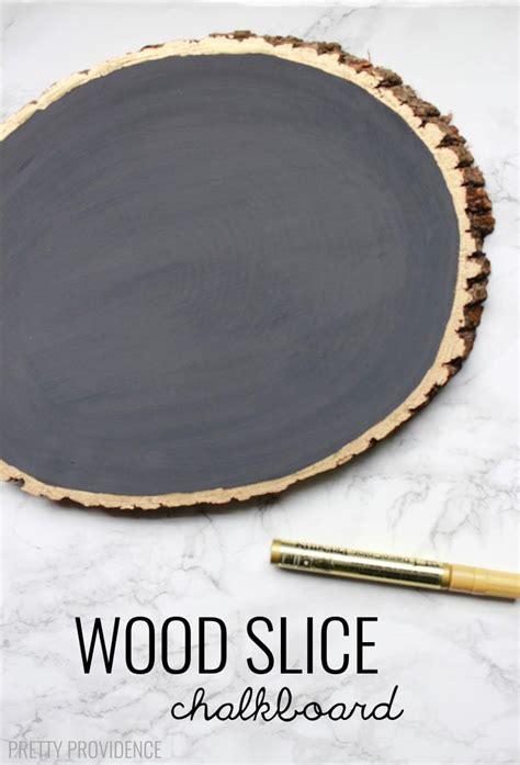 Diy-Wood-Slice-Chalkboard