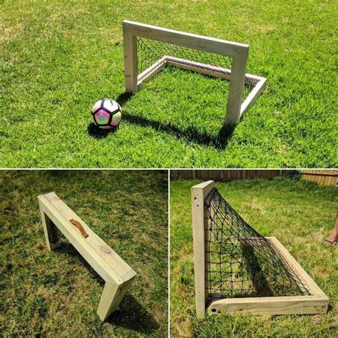 Diy-Wood-Soccer-Goal