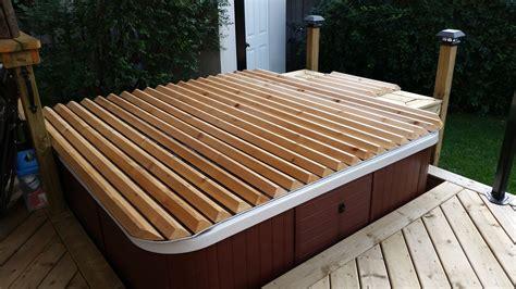 Diy-Wood-Spa-Cover