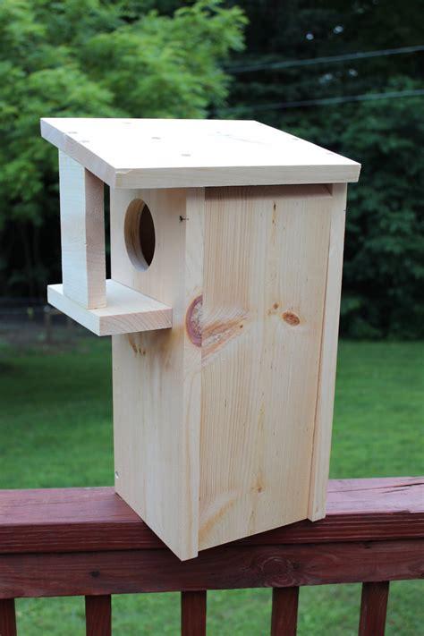 Diy-Wood-Squirrel-Nest
