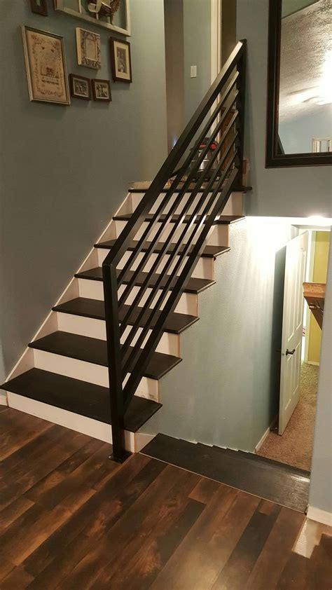 Diy-Wood-Stair-Railing
