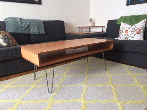 Diy-Wood-Table-Plywood-Stained
