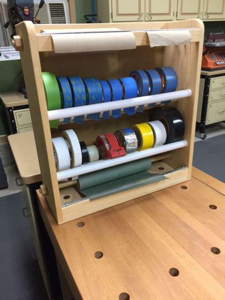 Diy-Wood-Tape-Storage-Rack