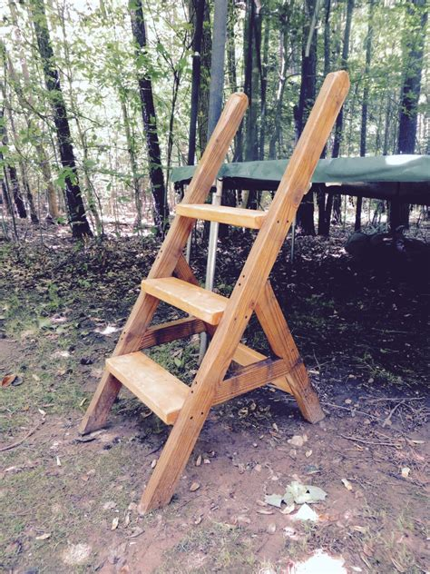 Diy-Wood-Trampoline-Ladder