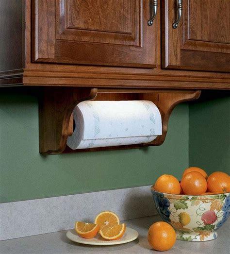 Diy-Wood-Under-Counter-Paper-Towel-Holder
