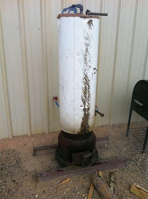 Diy-Wood-Water-Heater