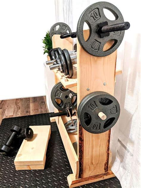 Diy-Wood-Weight-Storage