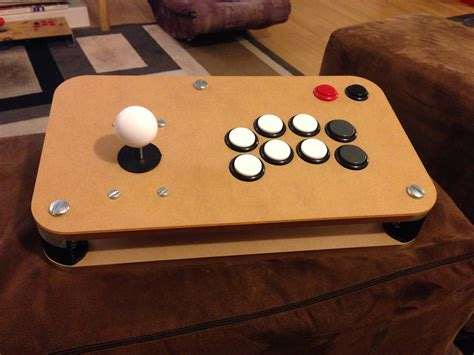 Diy-Wooden-Arcade-Stick