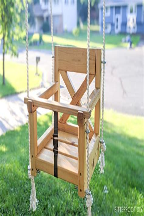 Diy-Wooden-Baby-Swing