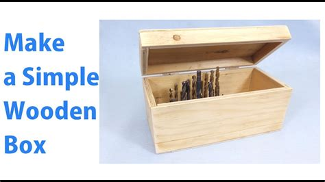 Diy-Wooden-Box-With-Sliding-Lid-No-Power-Tools