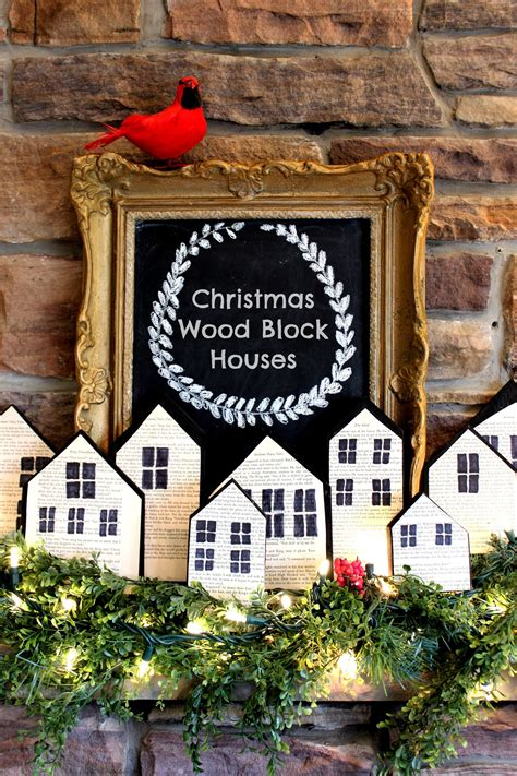 Diy-Wooden-Christmas-Houses