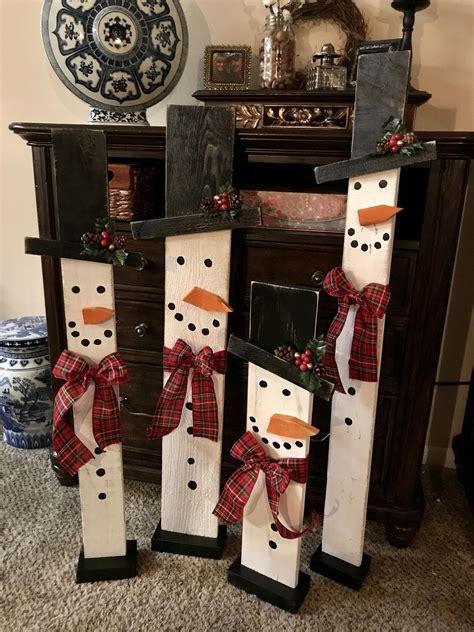 Diy-Wooden-Christmas-Snowman