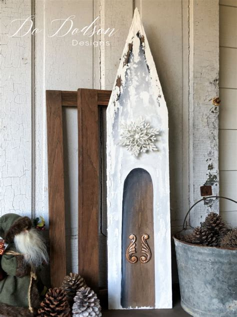 Diy-Wooden-Church