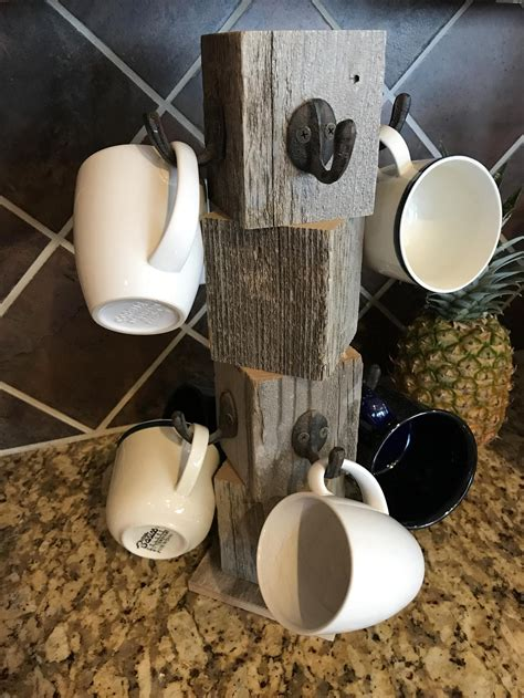 Diy-Wooden-Coffee-Mug-Stand