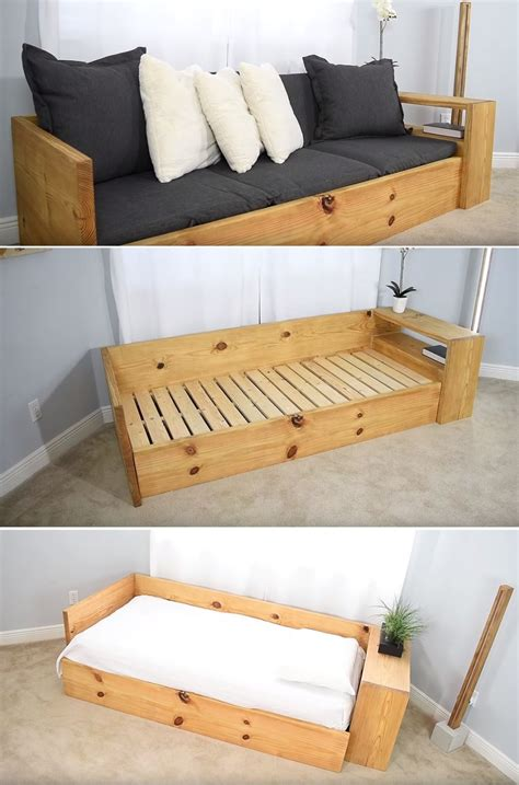 Diy-Wooden-Couch-Bed