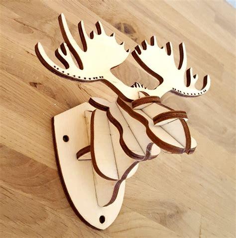 Diy-Wooden-Cutting-Deer-Head