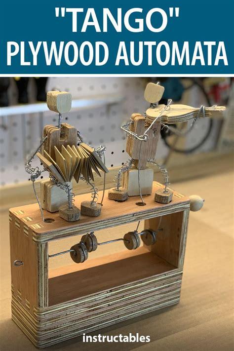 Diy-Wooden-Dancing-Automaton