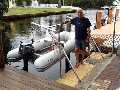 Diy-Wooden-Davits-Boat