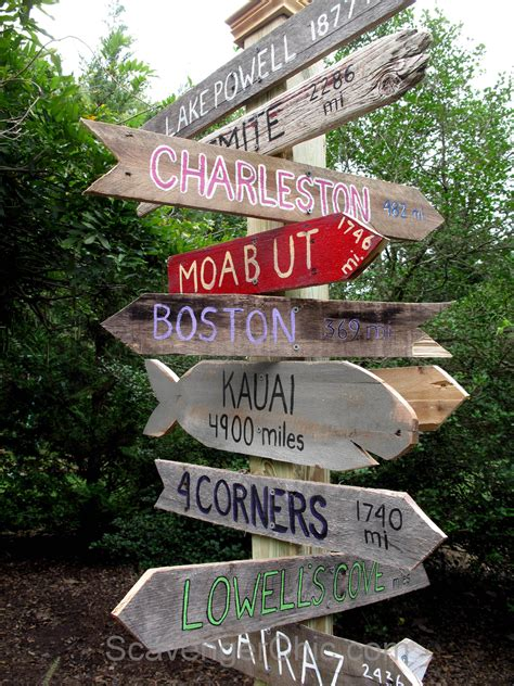 Diy-Wooden-Directional-Signs