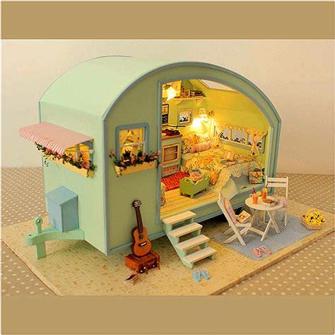 Diy-Wooden-Dollhouse-Miniature-Kit