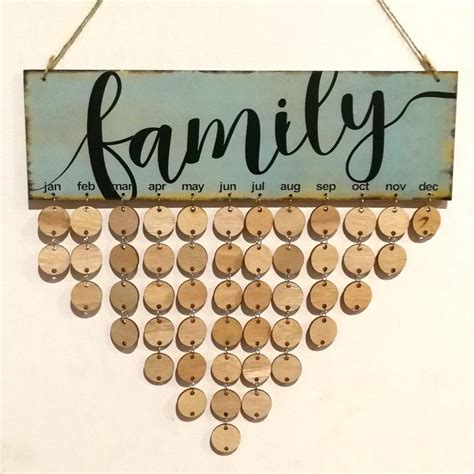 Diy-Wooden-Family-Birthday-Calendar