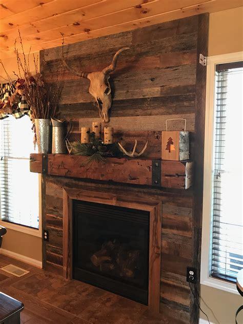 Diy-Wooden-Fireplace-Mantels