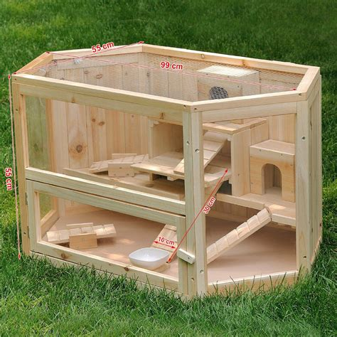 Diy-Wooden-Hamster-House