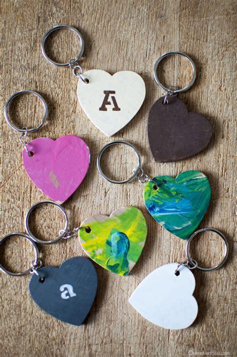 Diy-Wooden-Heart-Keychain