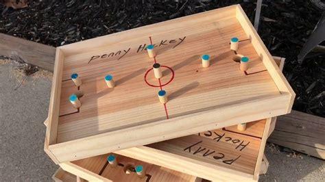 Diy-Wooden-Hockey-Game