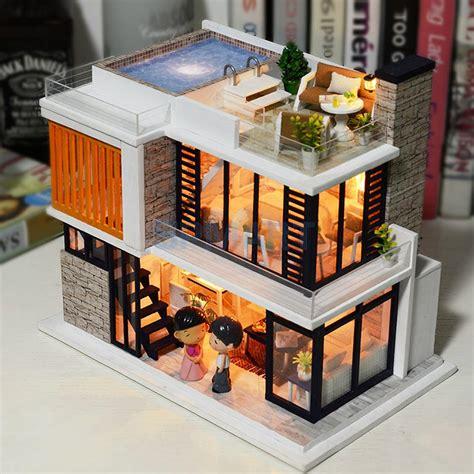 Diy-Wooden-House-Model