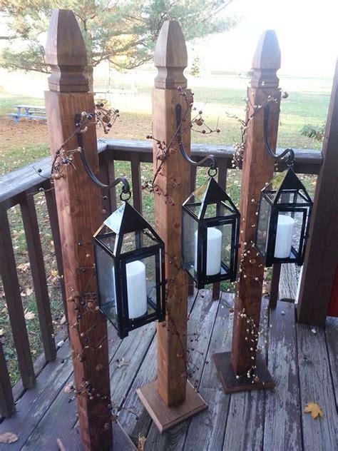 Diy-Wooden-Lantern-Post