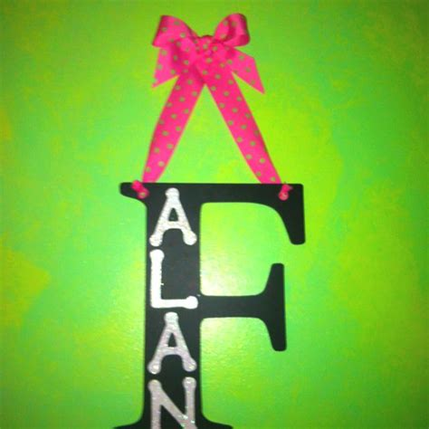 Diy-Wooden-Letters-With-Ribbon