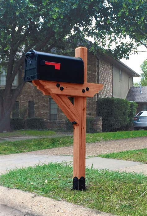 Diy-Wooden-Mailbox-Post-Plans