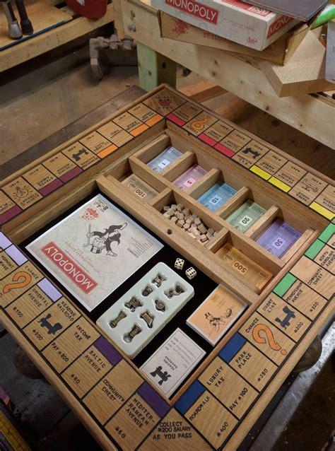 Diy-Wooden-Monopoly-Board