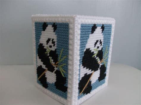 Diy-Wooden-Panda-Tissue-Box-Cover