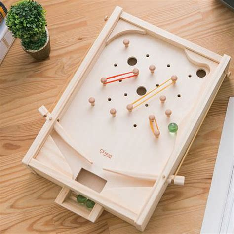 Diy-Wooden-Pinball-Machine