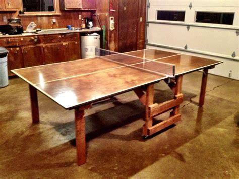Diy-Wooden-Ping-Pong-Table