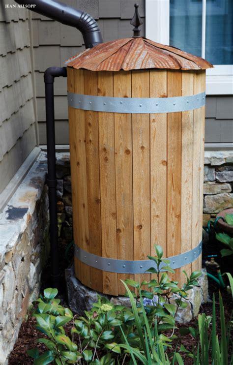 Diy-Wooden-Rain-Barrel