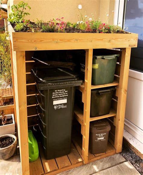 Diy-Wooden-Recycling-Bins
