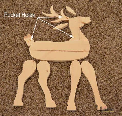 Diy-Wooden-Reindeer-Pattern