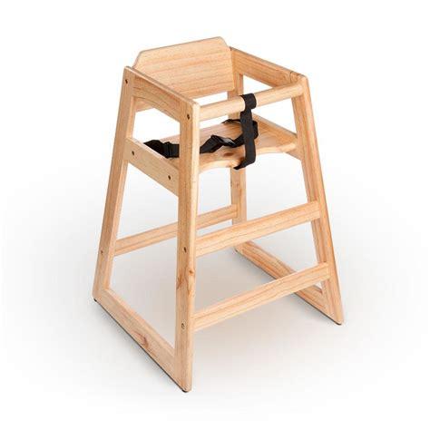 Diy-Wooden-Restaurant-Style-High-Chair