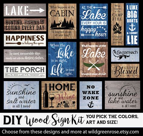 Diy-Wooden-Sign-Kit