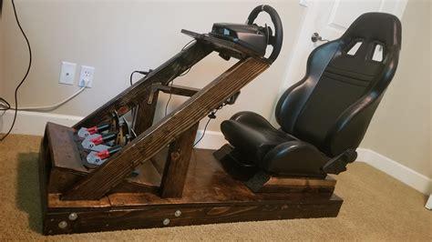 Diy-Wooden-Sim-Racing-Rig