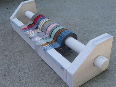 Diy-Wooden-Tape-Roll-Holder