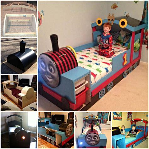 Diy-Wooden-Train-Bed