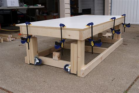 Diy-Workbench-With-Casters